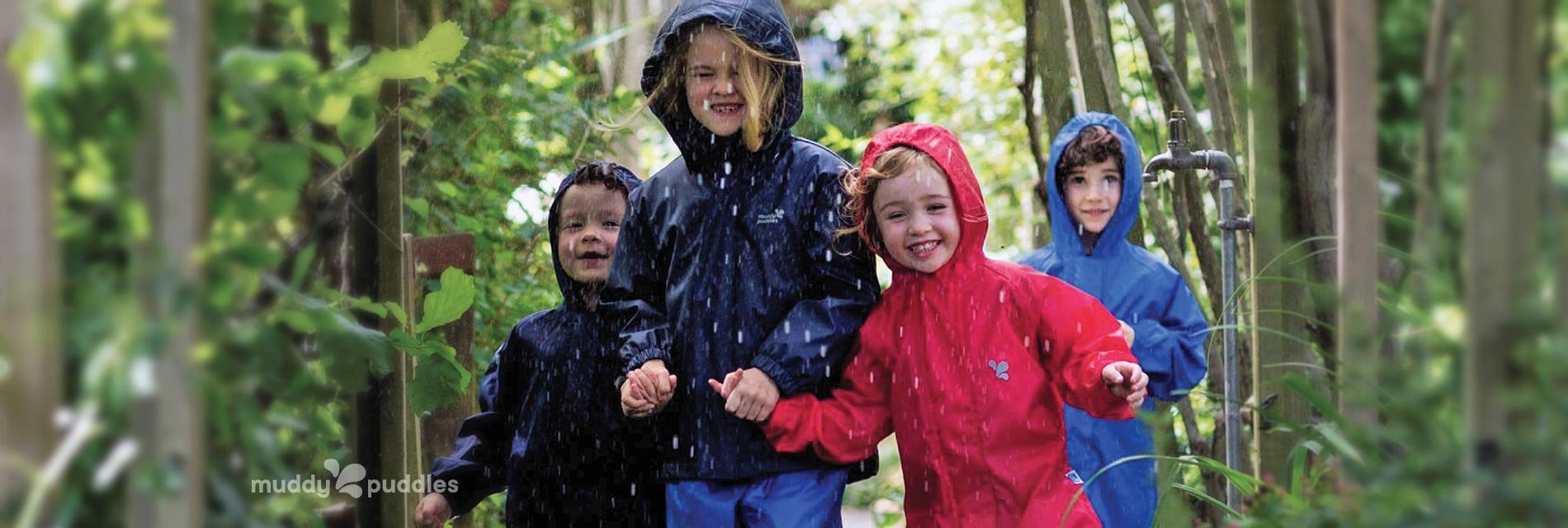 Kids Waterproof All In Ones homepage banner