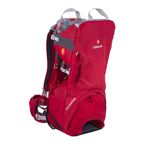 Cross Country S4 Child Carrier (Red)