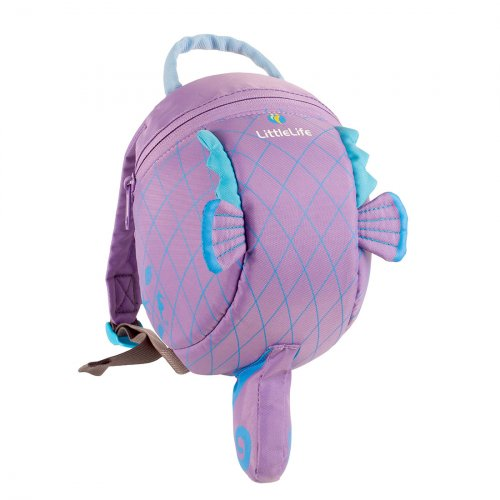 Seahorse Toddler Backpack with Rein
