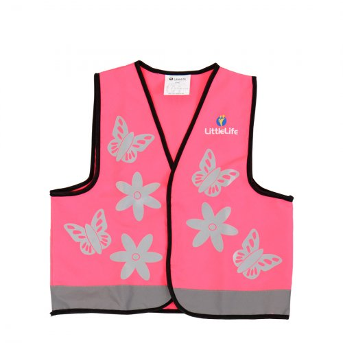 Pink Butterfly Hi Vis Vest (Medium)