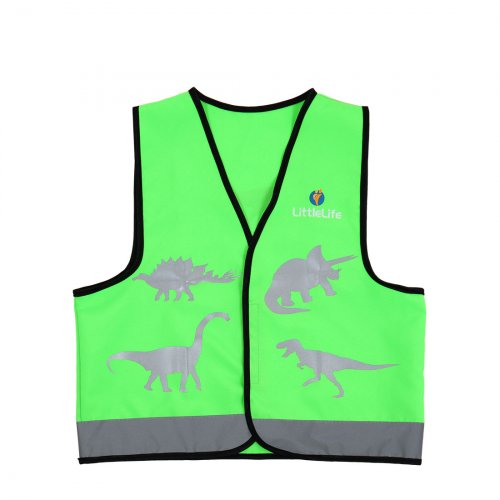 Green Dinosaur Hi Vis Vest (Medium)