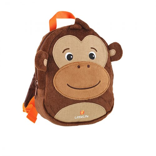 Monkey Toddler Backpack with Rein