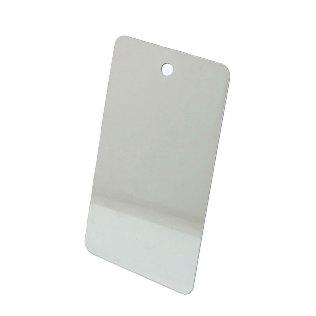 Carrier spare mirror with red cord