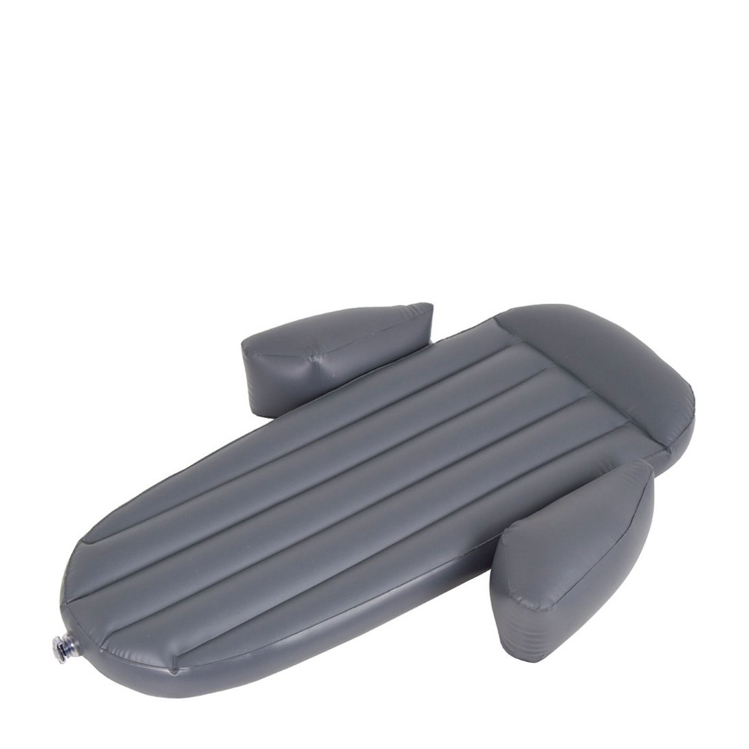 Grey inflatable snuggle pod mattress