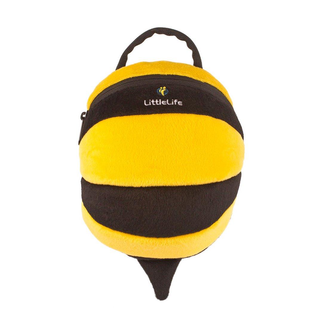 bee backpack with rein toddler backpacks littlelife. Black Bedroom Furniture Sets. Home Design Ideas