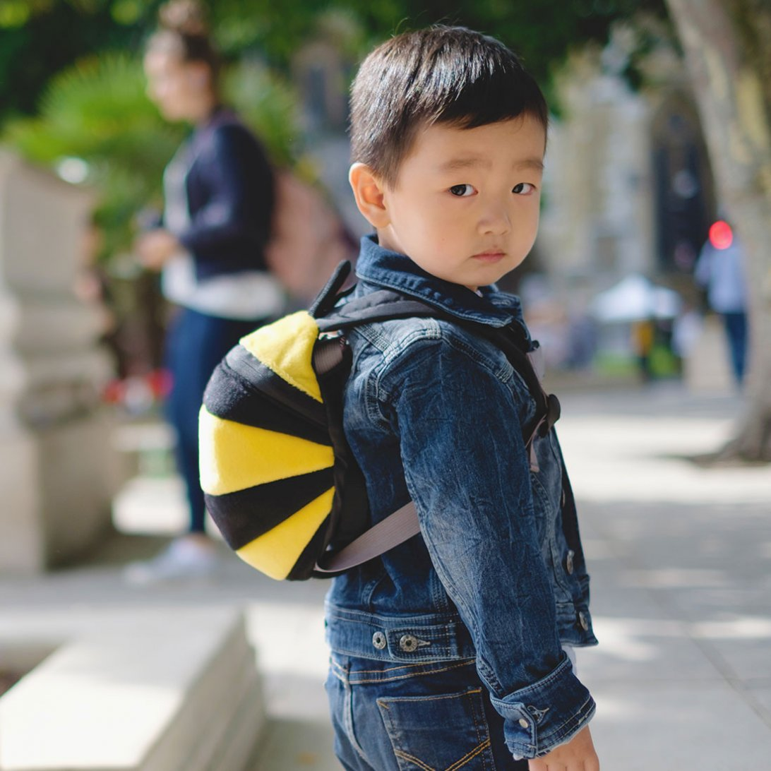 Bee Toddler Animal Backpack - Lifestyle