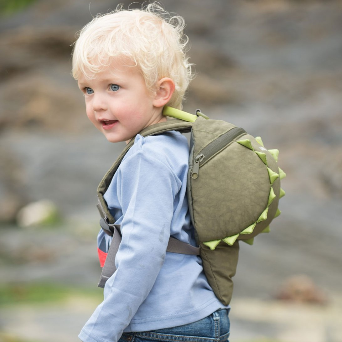 Crocodile Toddler Backpack with Rein
