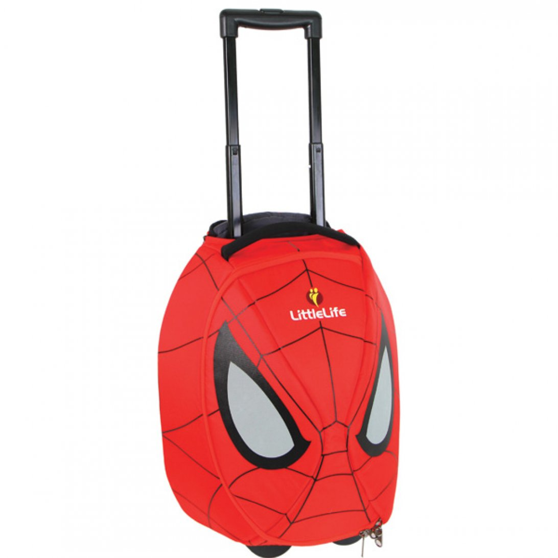 DISNEY SPIDERMAN KIDS SUPER LIGHTWEIGHT 3 PIECES NEW WHEELED BAG