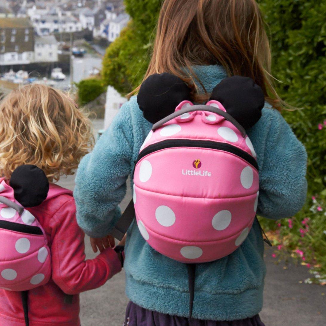Big Disney Pink Minnie Mouse Kids Backpack