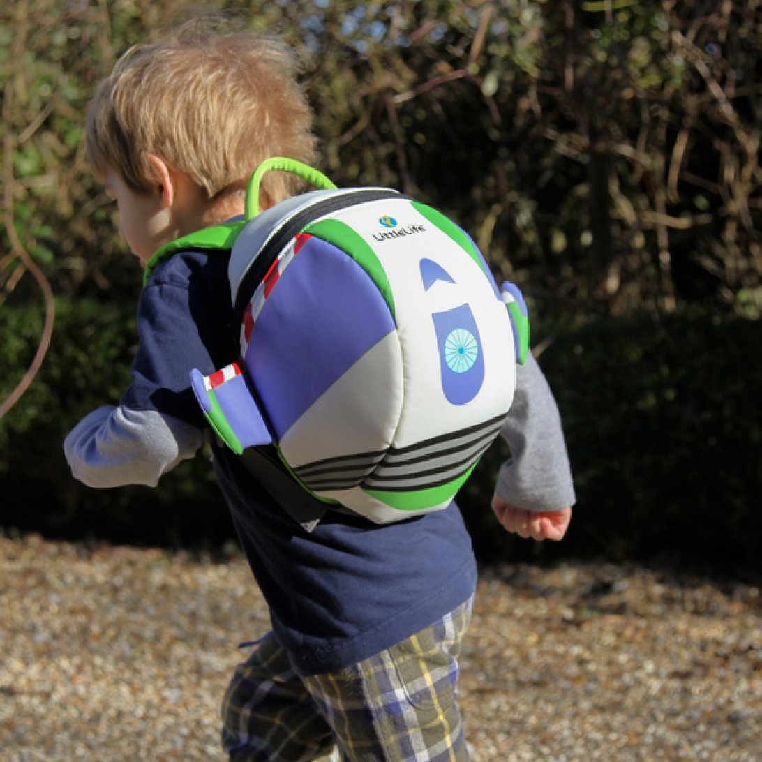 e664c47d542 Big Disney Buzz Lightyear Kids Backpack