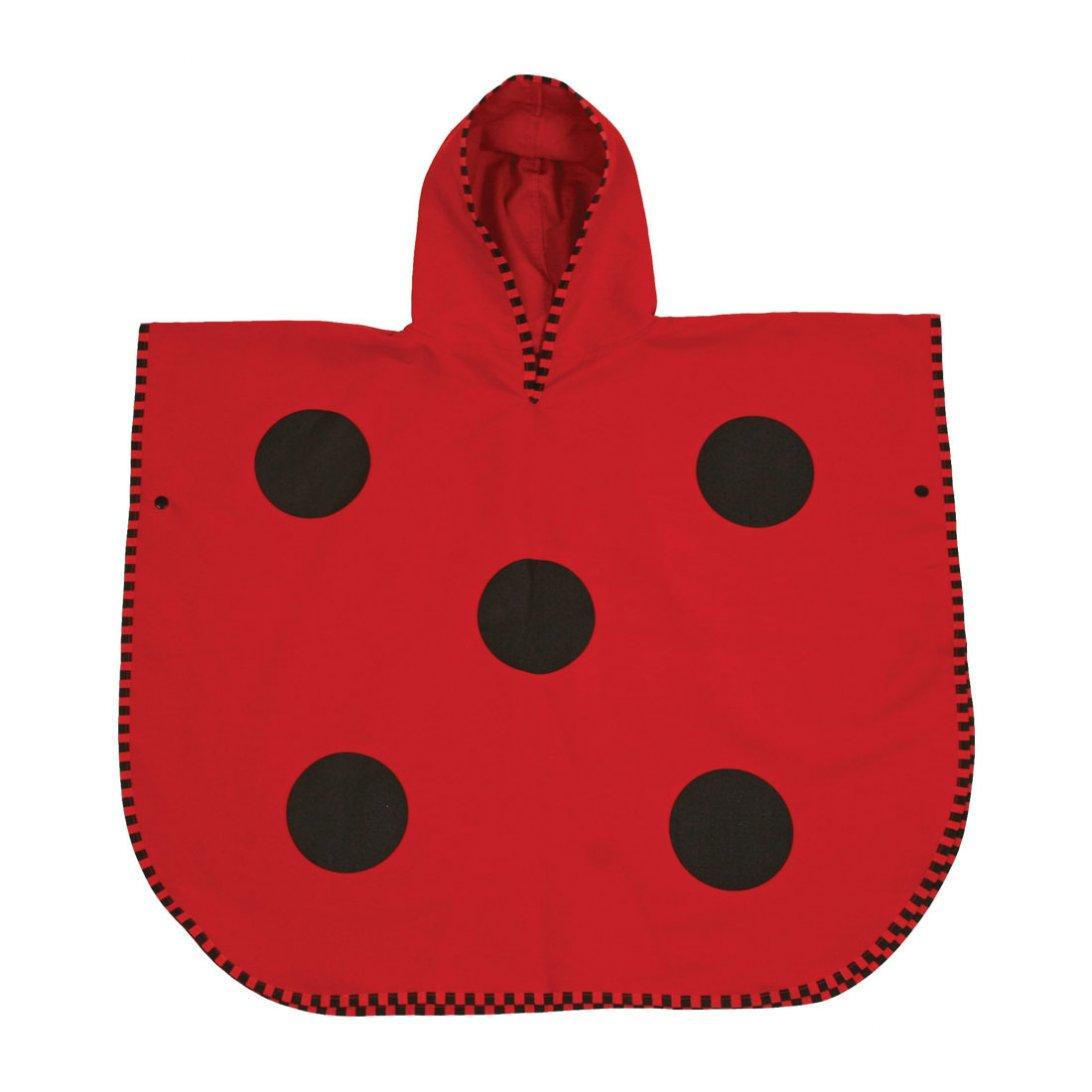 Ladybird Poncho Towel (Medium)