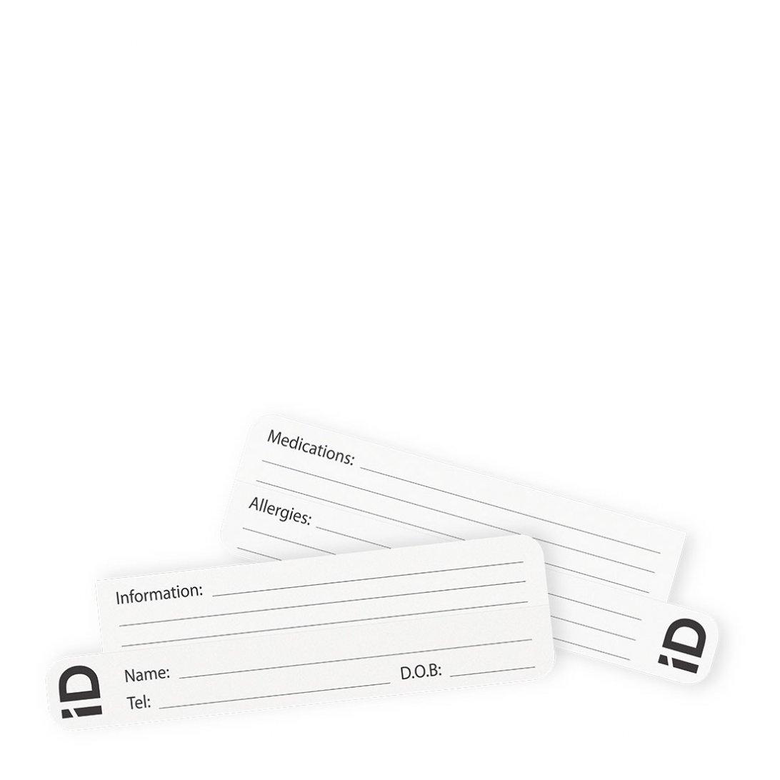 Child Bracelet iD Cards