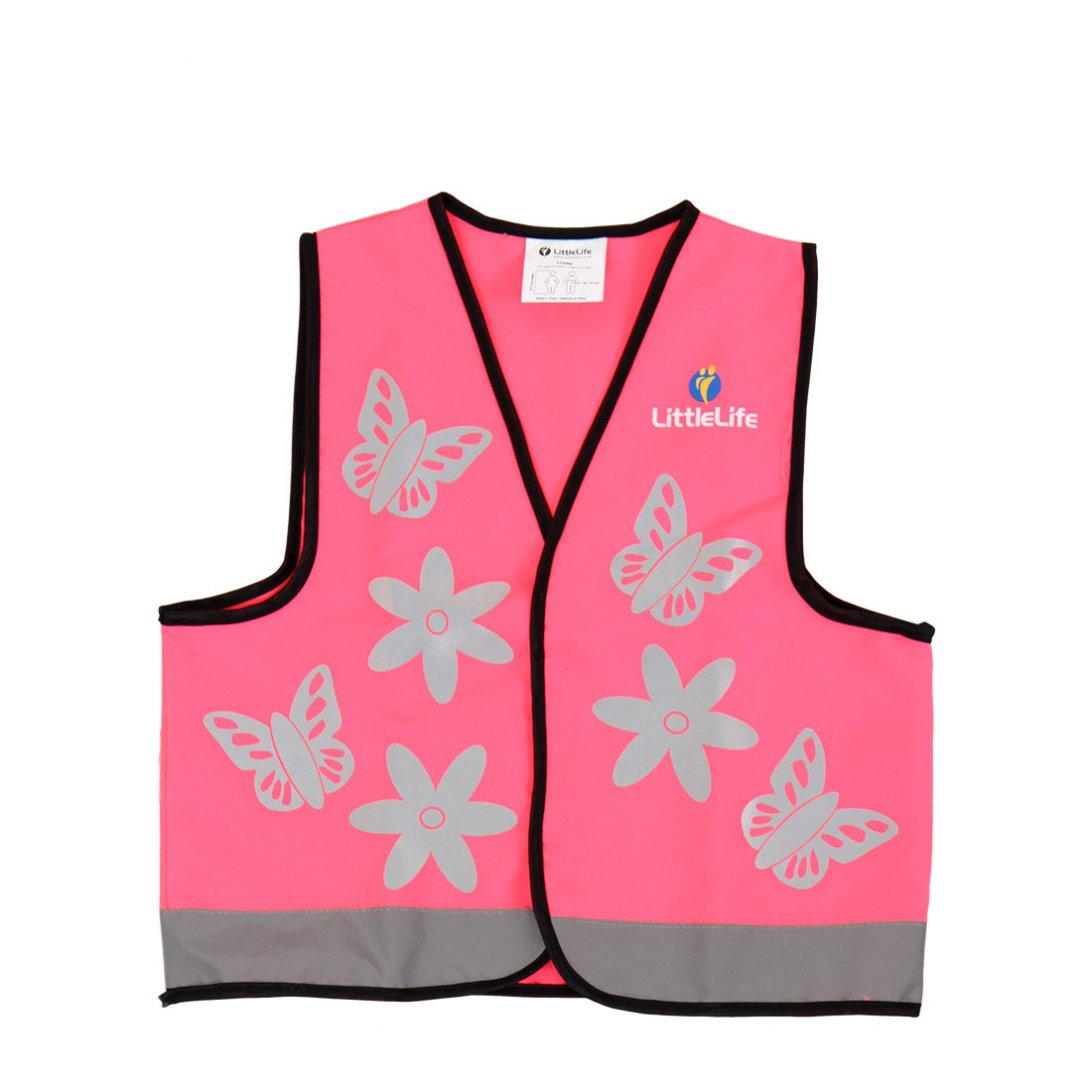 Pink Butterfly Hi Vis Vest (Small)