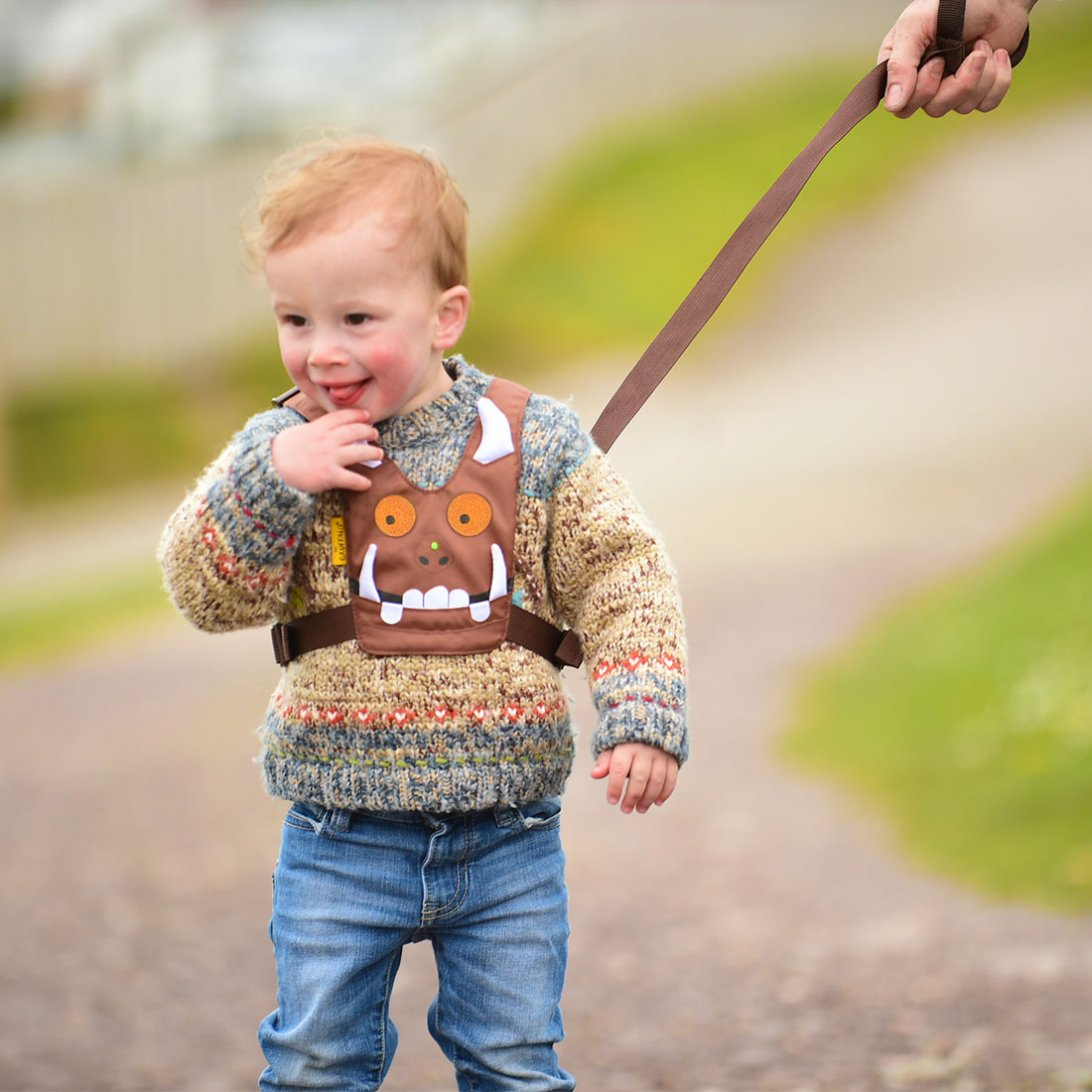 L Safety Harness Gruffalo on 4 Point Shoulder Harness