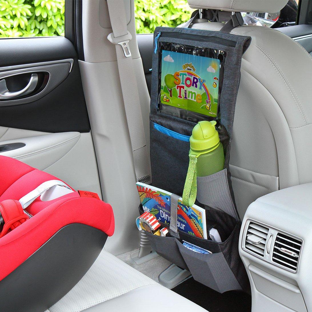 Car seat organiser lifestyle