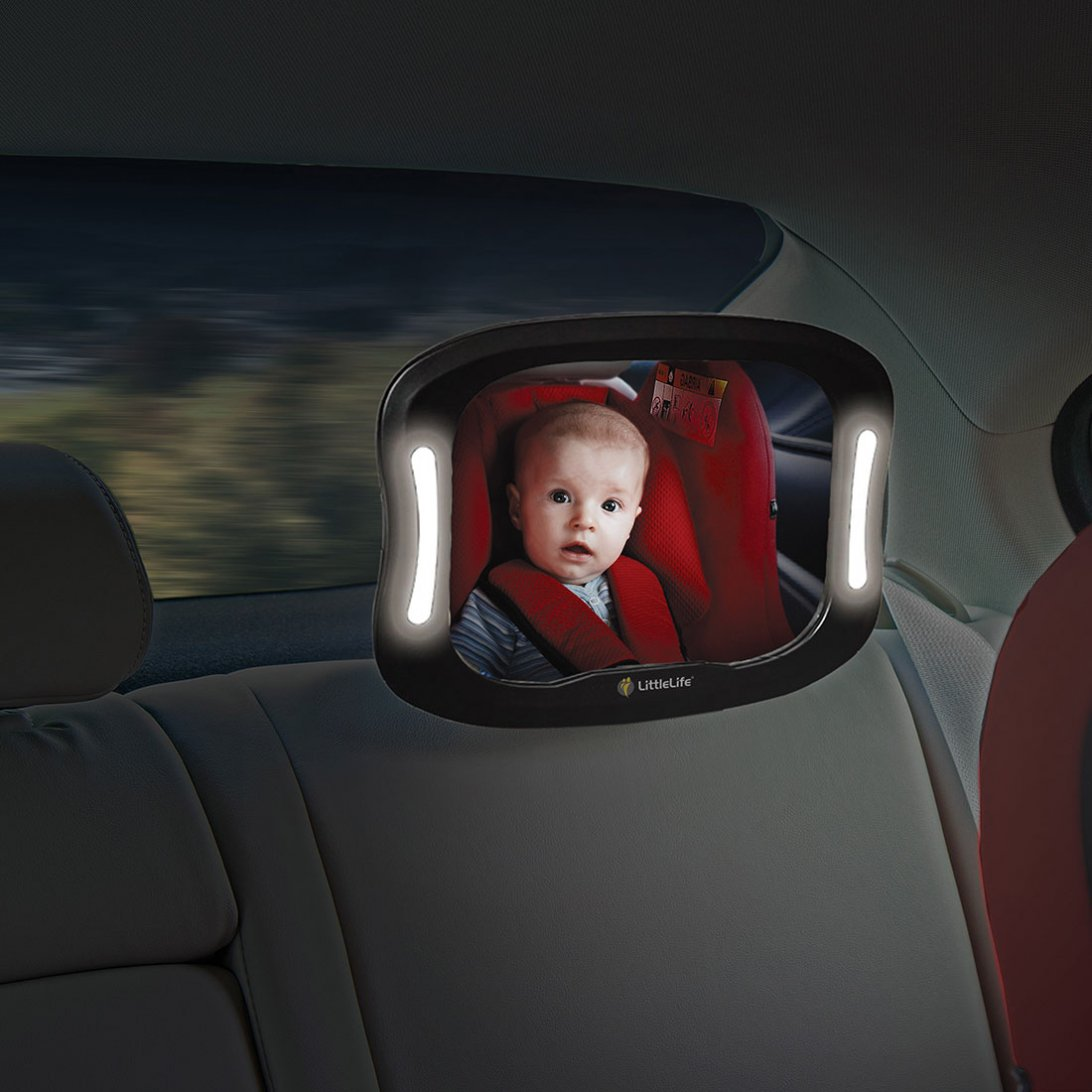 Baby Car Mirror With Light Baby Car Accessories