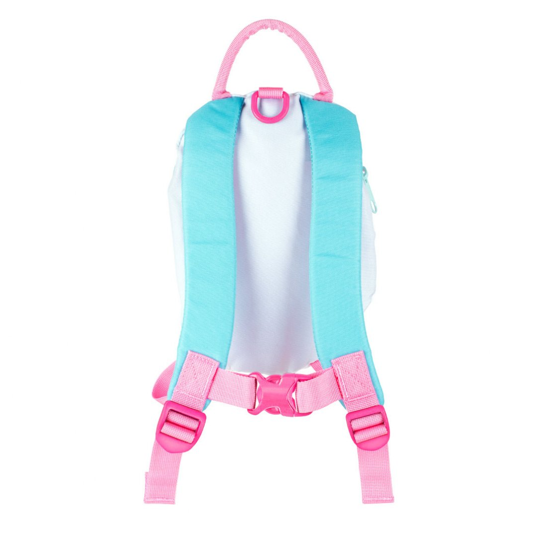 Unicorn backpack back