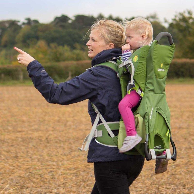 Adventurer S2 child carrier lifestyle
