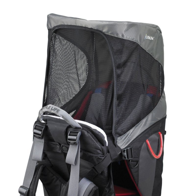Child carrier sun shade included