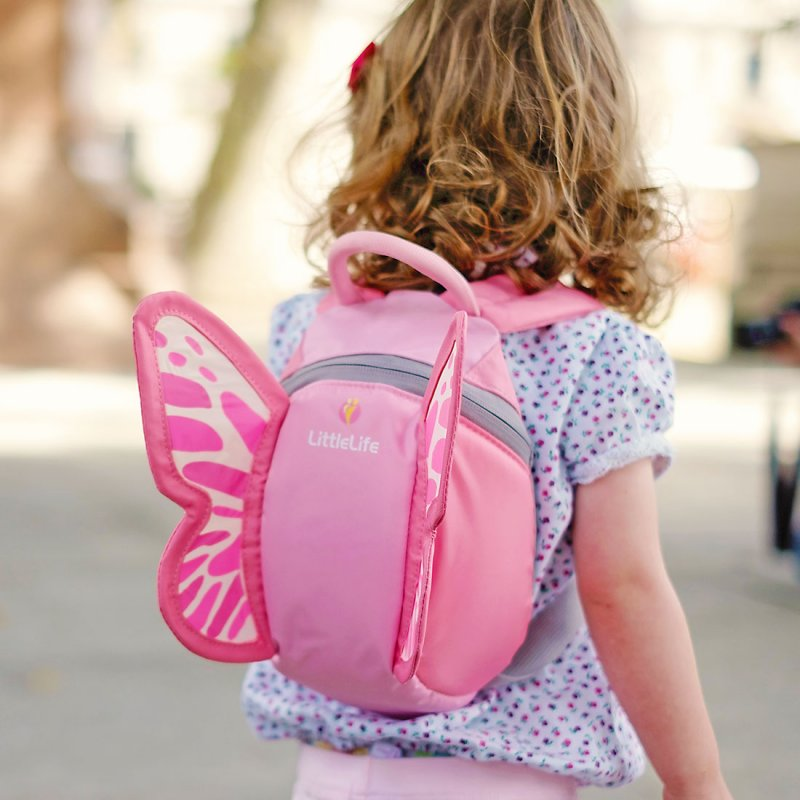 Butterfly Toddler Animal Backpack - Lifestyle