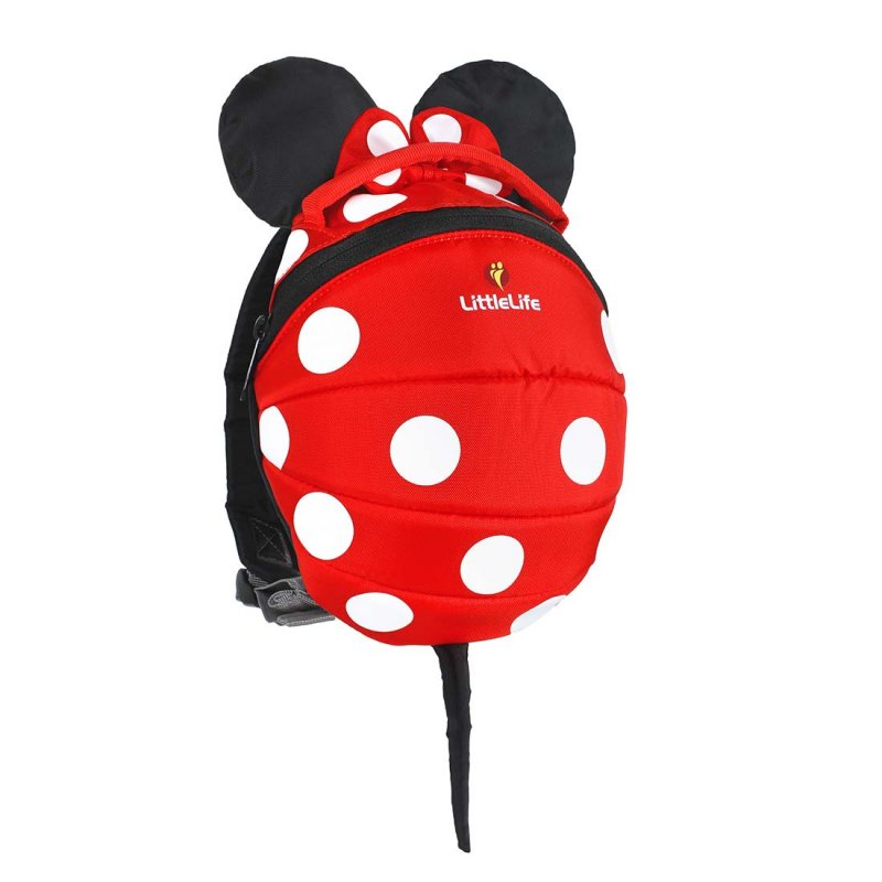 LittleLife Disney Minnie Mouse Toddler Backpack with Rein
