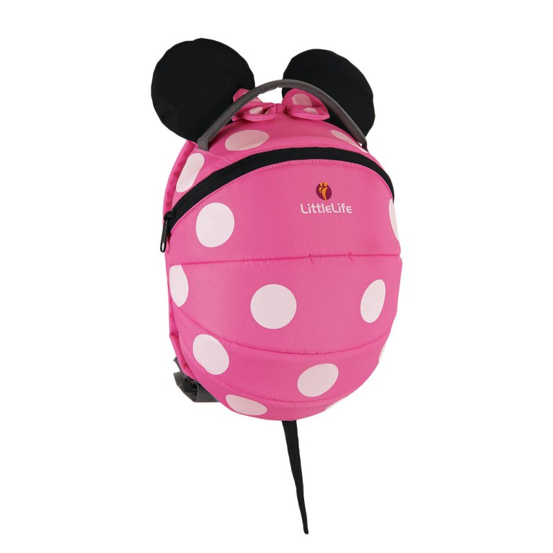 Kids Pink Minnie Mouse Backpack Character Backpacks