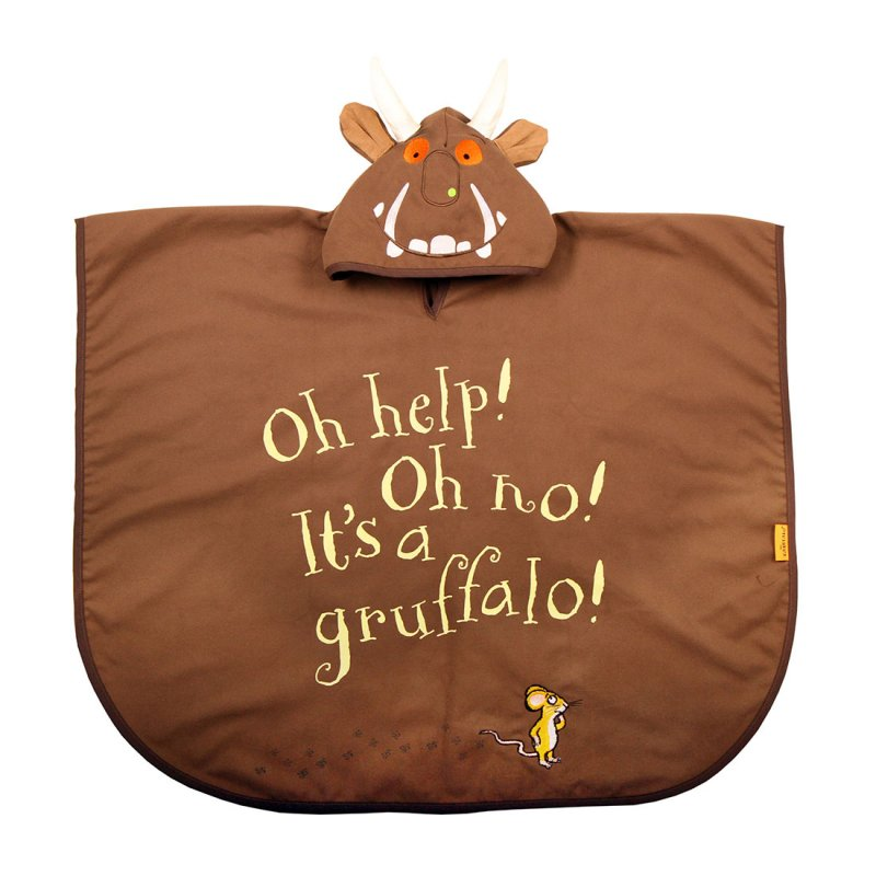 The Gruffalo Poncho Towel (Medium)