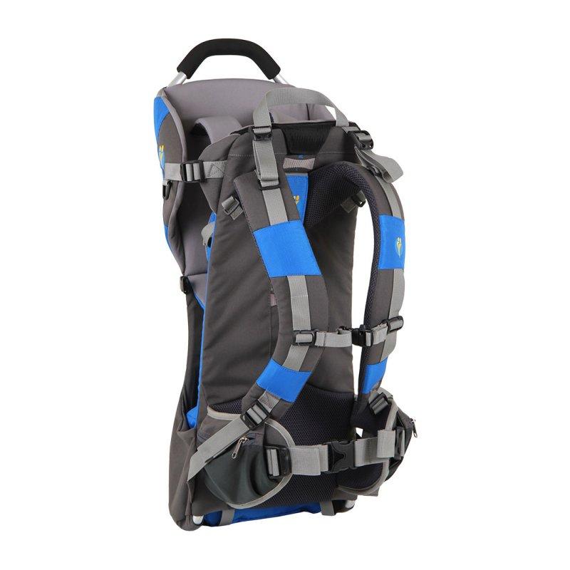 Blue and grey child back carrier back
