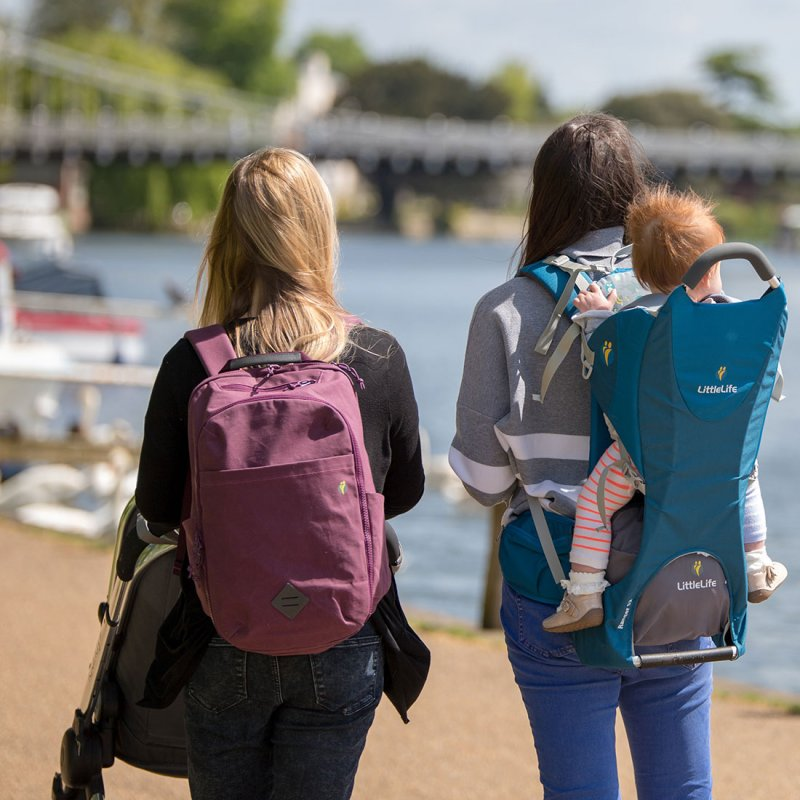 Backpack Changing Bag - Purple