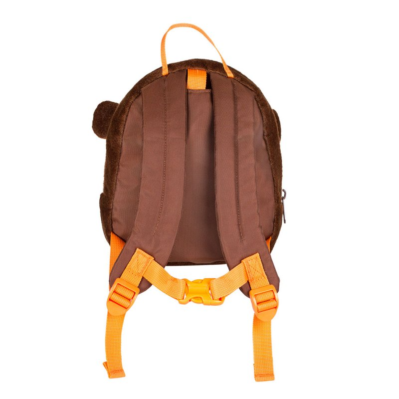 Monkey backpack back