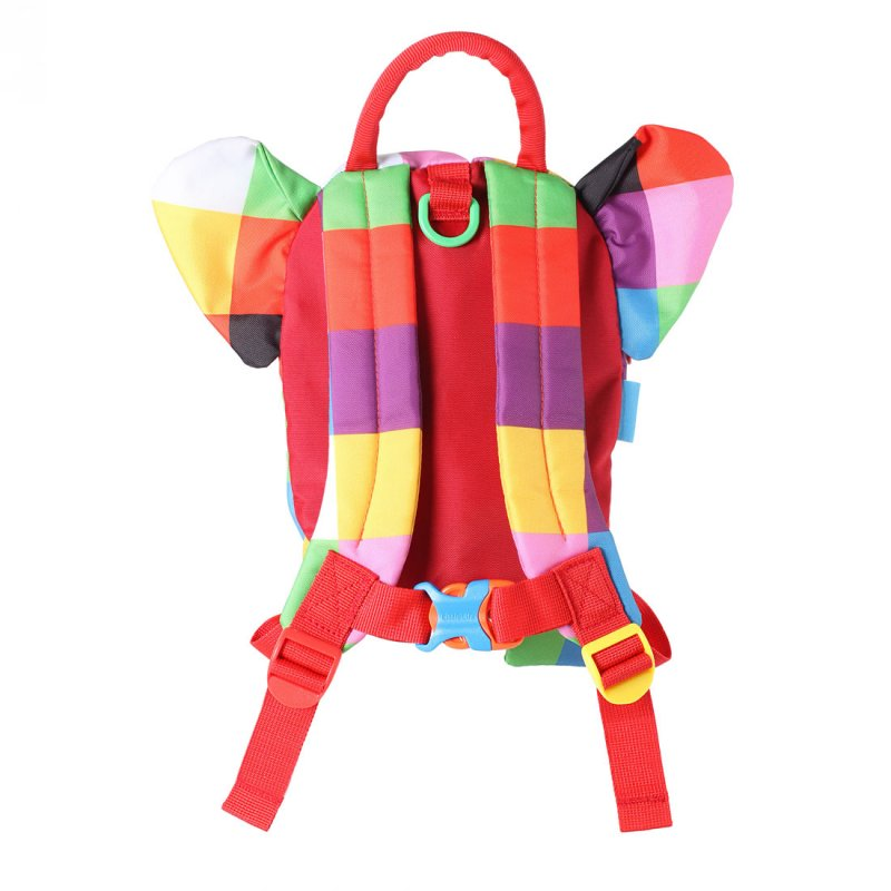 Elmer the Elephant Toddler Backpack with Rein