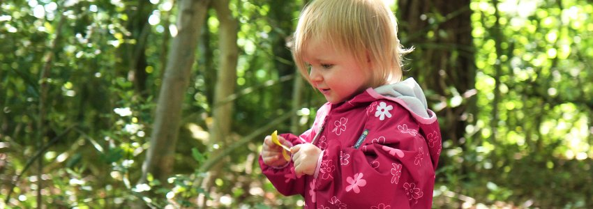 Kids Outdoor Clothing Banner
