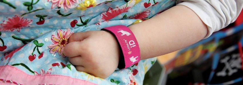 Child iD Bracelets Banner