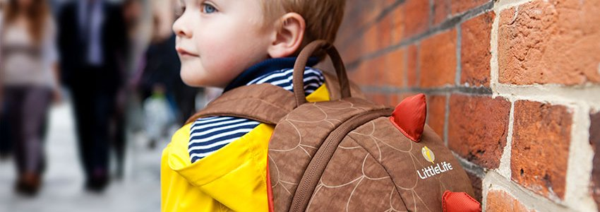 Animal Kids Backpacks Banner
