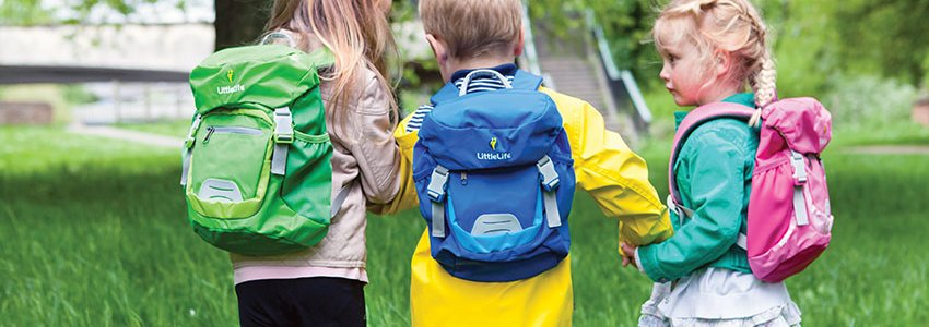 Classic Kids Backpacks Banner