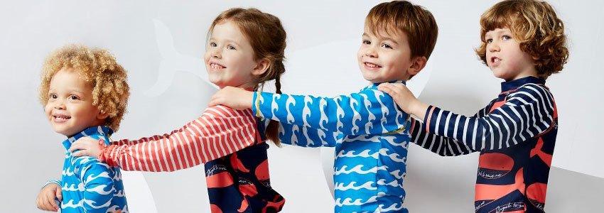 Kids UV Swimwear Banner