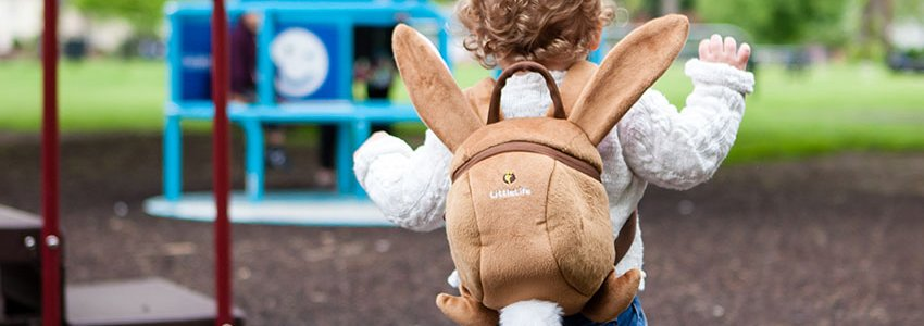 Animal Toddler Backpacks Banner