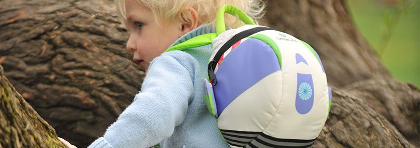 Character Toddler Backpacks Banner
