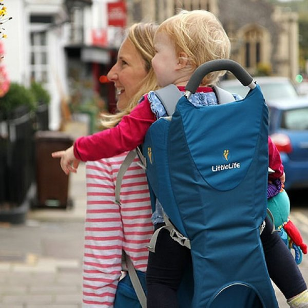 Little Explorers: Back Carriers For Fitness