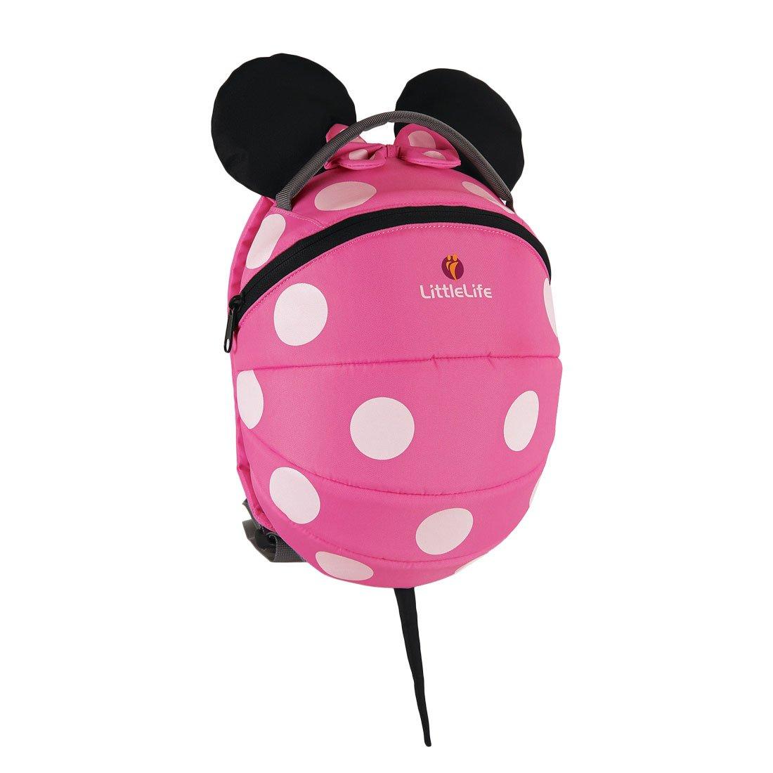 kids pink minnie mouse backpack character backpacks littlelife. Black Bedroom Furniture Sets. Home Design Ideas