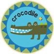 Crocodile Badge