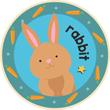 Bunny Rabbit Badge