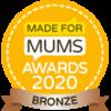 Made For Mums Awards 2020 Bronze