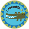 Crocodile Badge