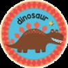 Dinosaur Badge