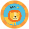 Lion Badge