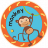 Monkey Badge