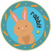 Bunny Rabbit Badge