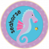 Seahorse Badge