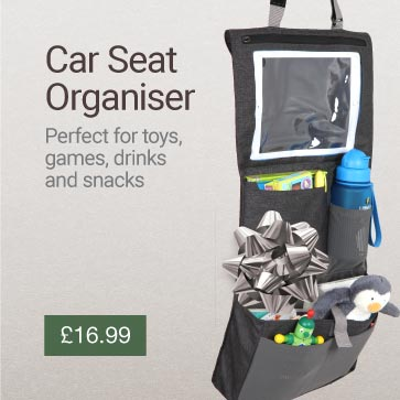 Car Seat Organiser Christmas Gift Idea Banner